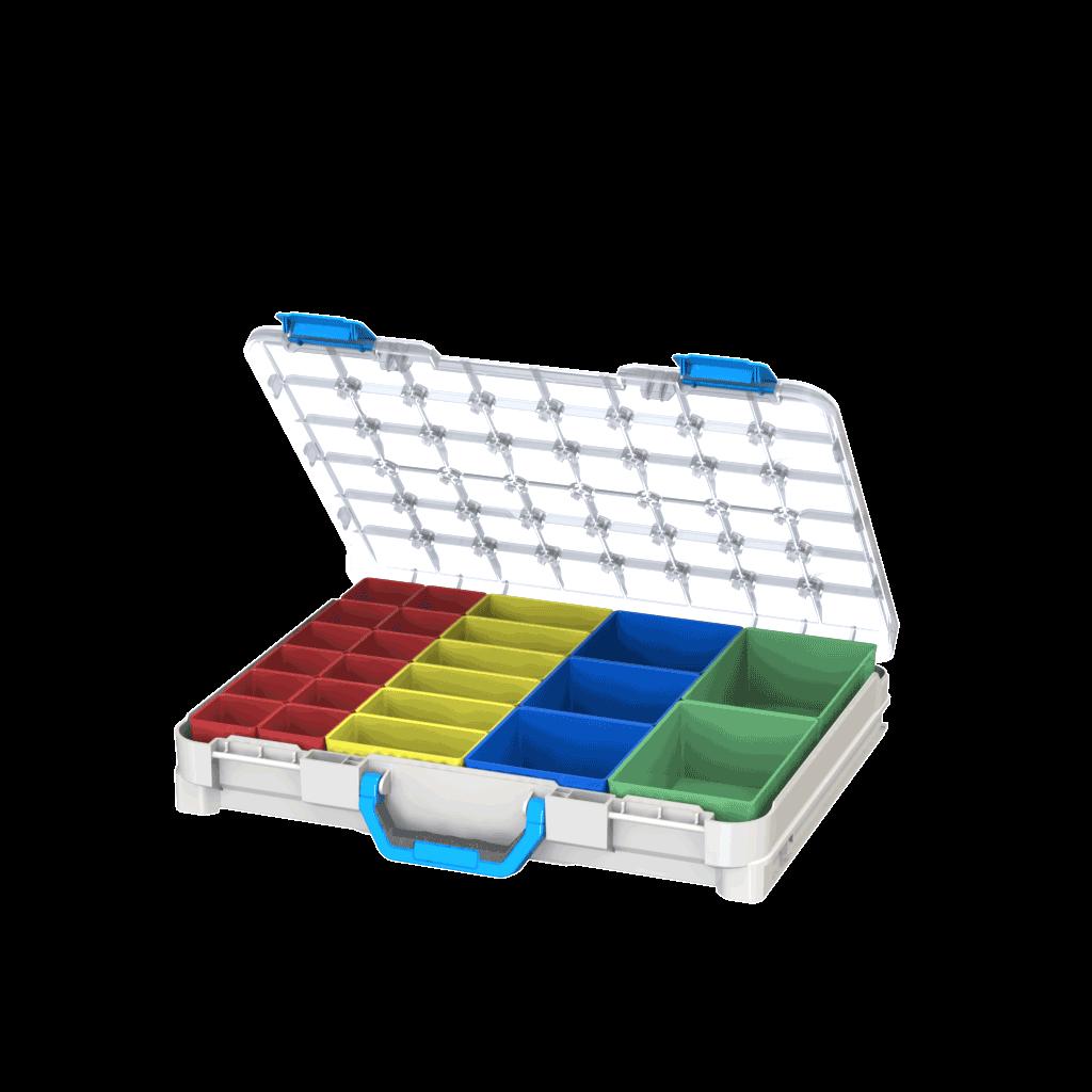 caixa de ferramentas de plástico para furgões