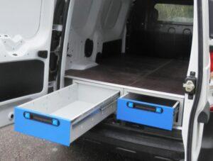 otimizar espaço de carga carrinha van furgão