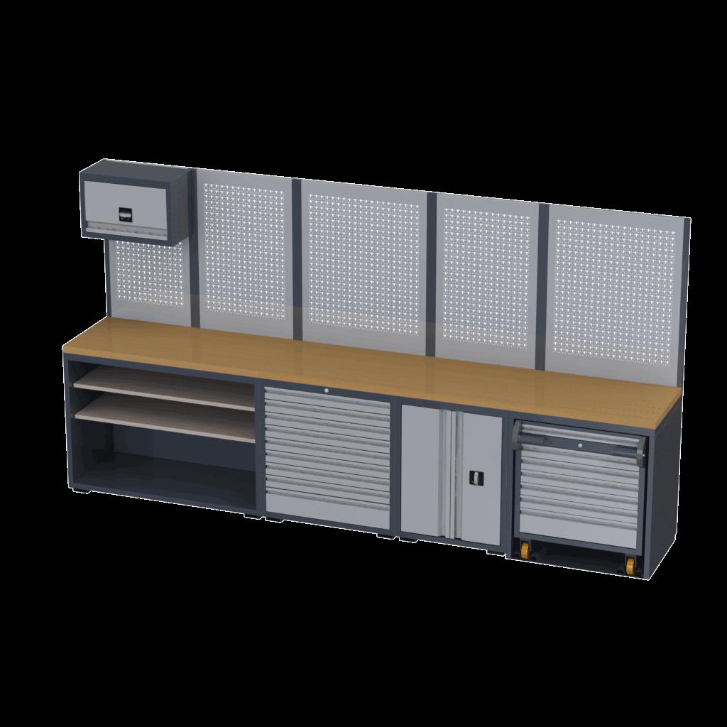 Decoração de Oficinas by Tecnolam modelo 2TLXL