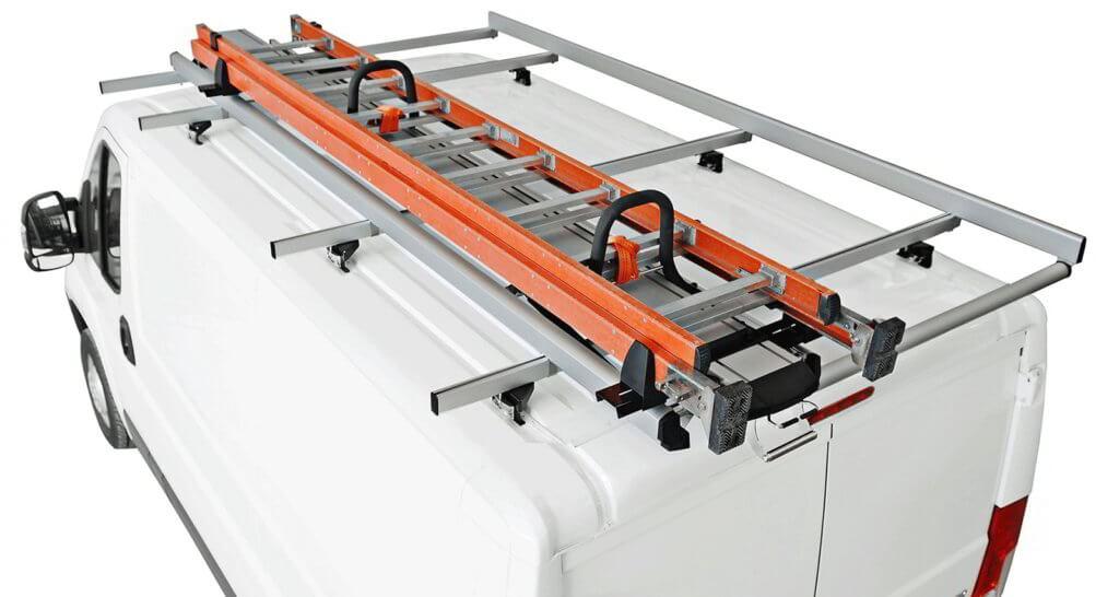 rack suporte escada furgões e carrinhas de trabalho