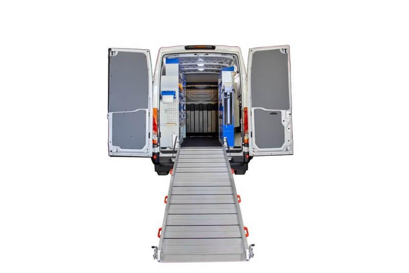 rampas para carrinhas e furgões tecnolam