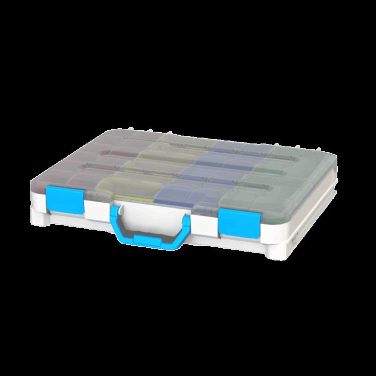 caixas de ferramenta de plástico