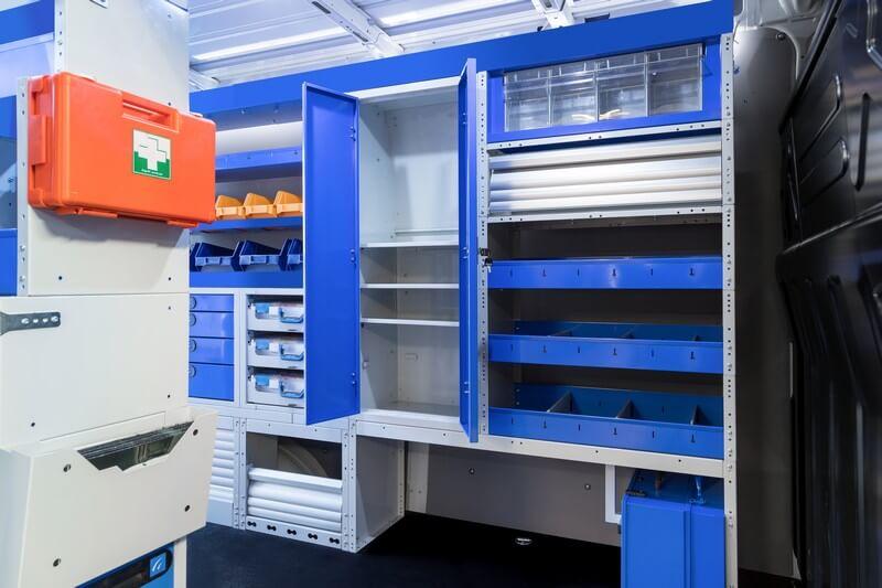 armários para furgões Tecnolam