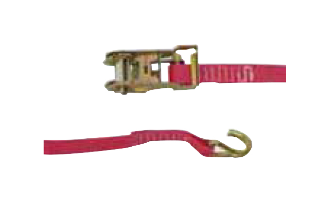 cinta com gancho para barras de contenção aluminio tecnolam