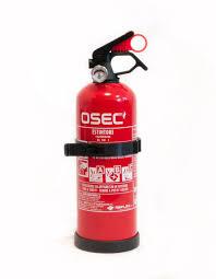 extintor de incêndio em pó