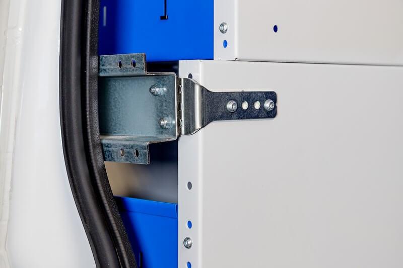 kit de fixação estantes em furgões carrinhas vans