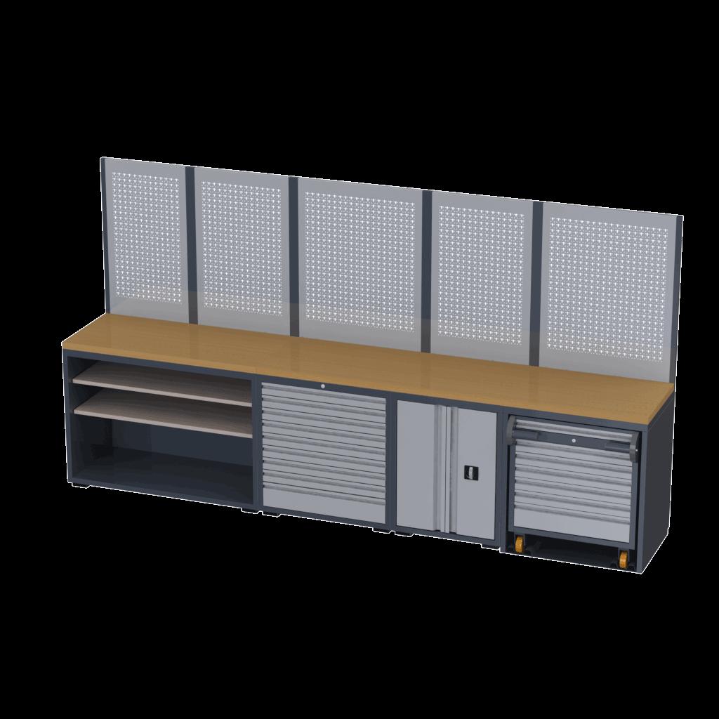 móveis para oficina Tecnolam modelo 1TLX