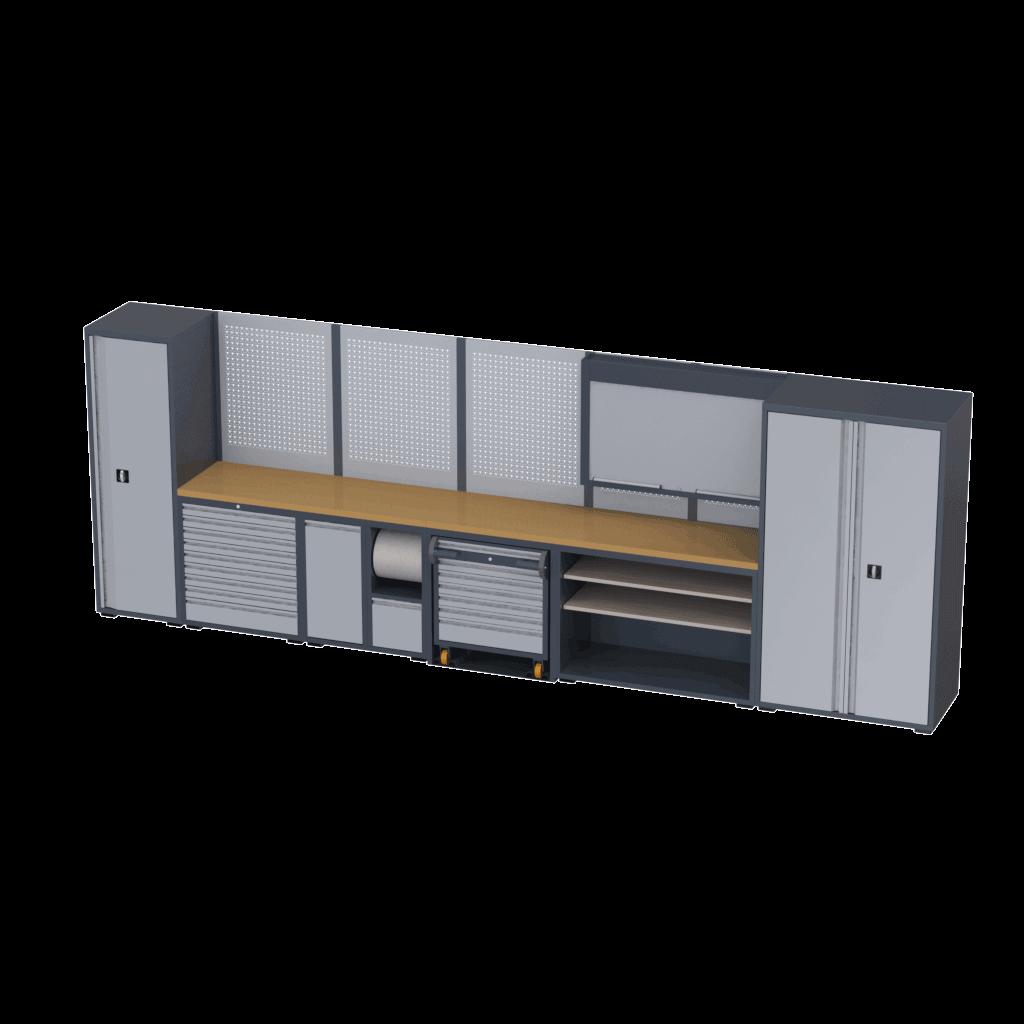 modulos para bancada de oficinas tecnolam