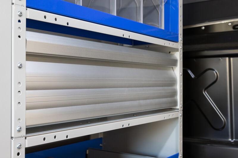 estantes para furgões tecnolam made in italy