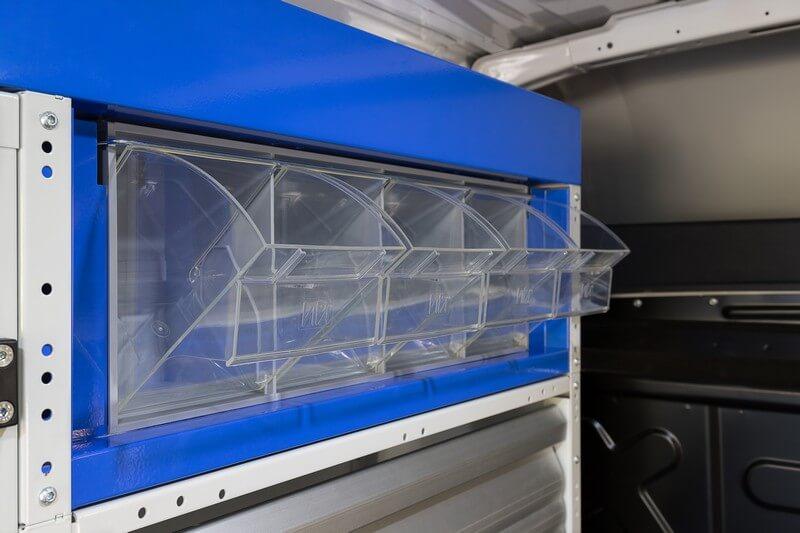 caixas transparentes para furgões carrinhas