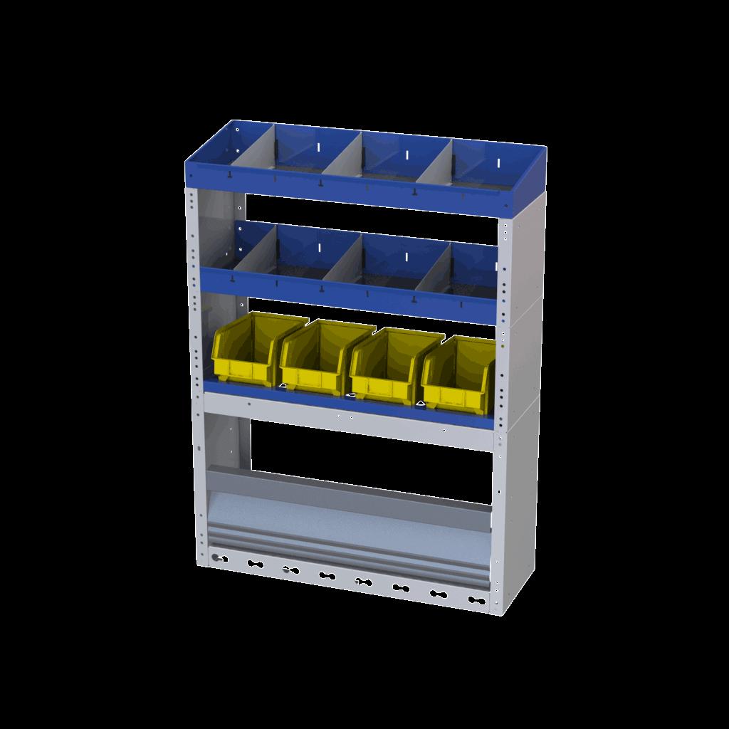 estrutura para furgões