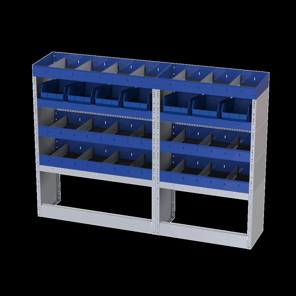 estantes para furgões e carrinhas