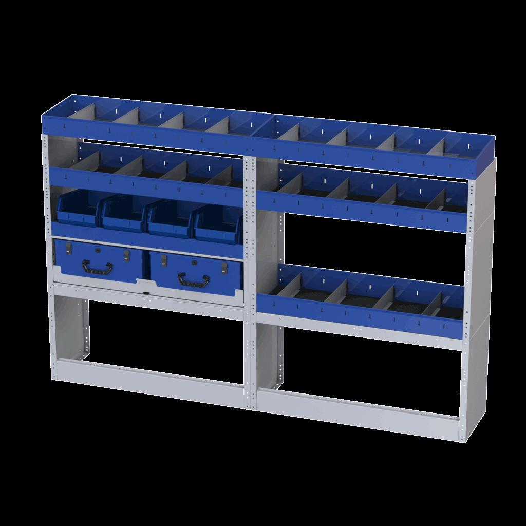 carrinhas estantes seguras