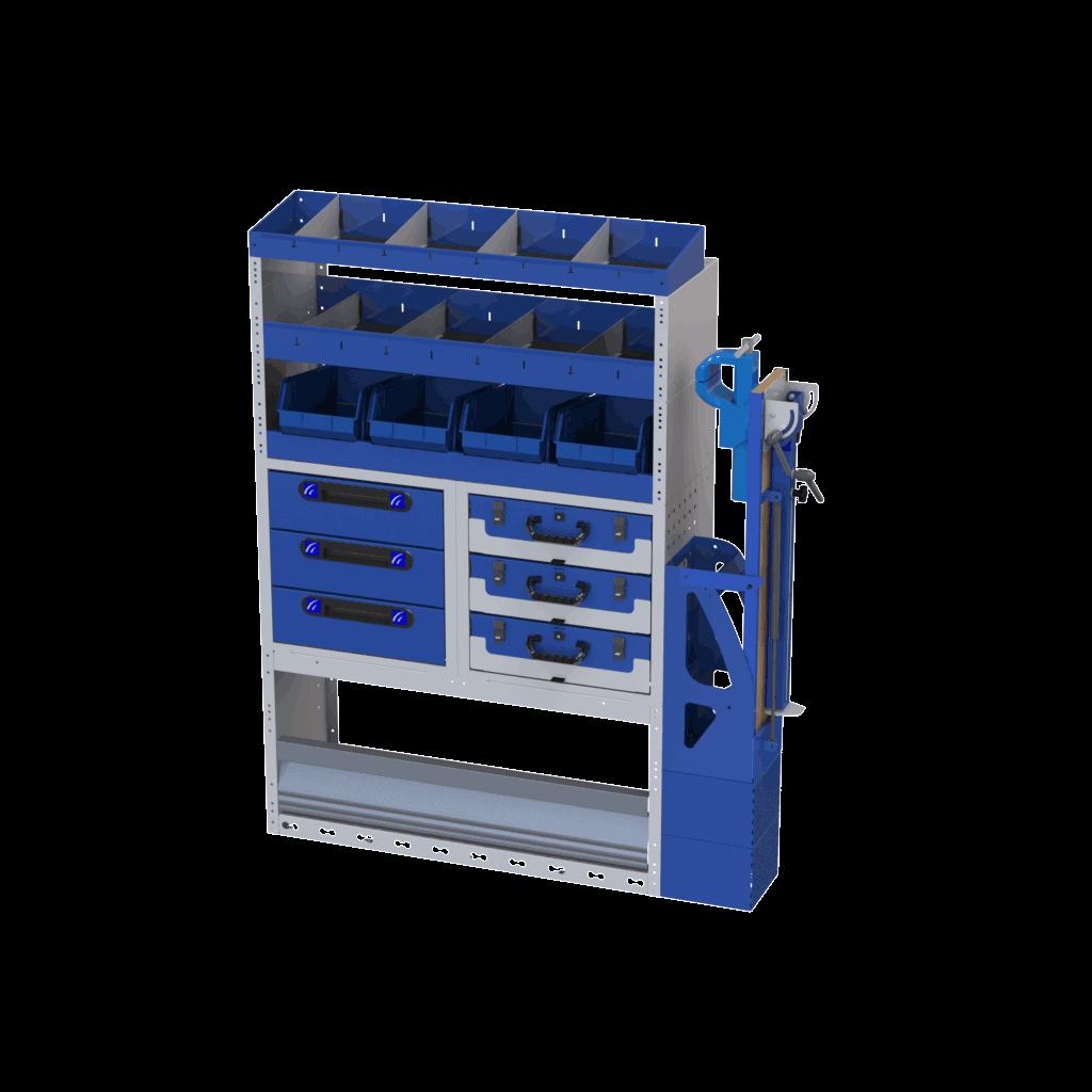 equipamentos para transformar furgão em oficina móvel