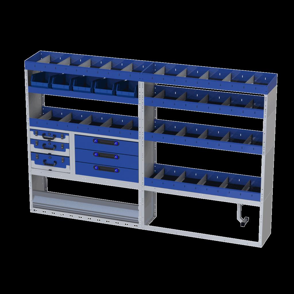 furgões equipamentos de qualidade