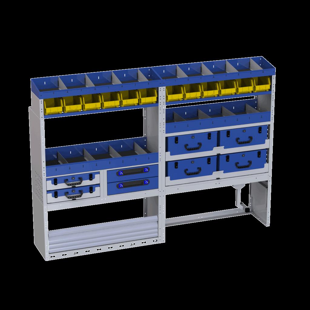 equipamentos para furgões Renault Master by Tecnolam