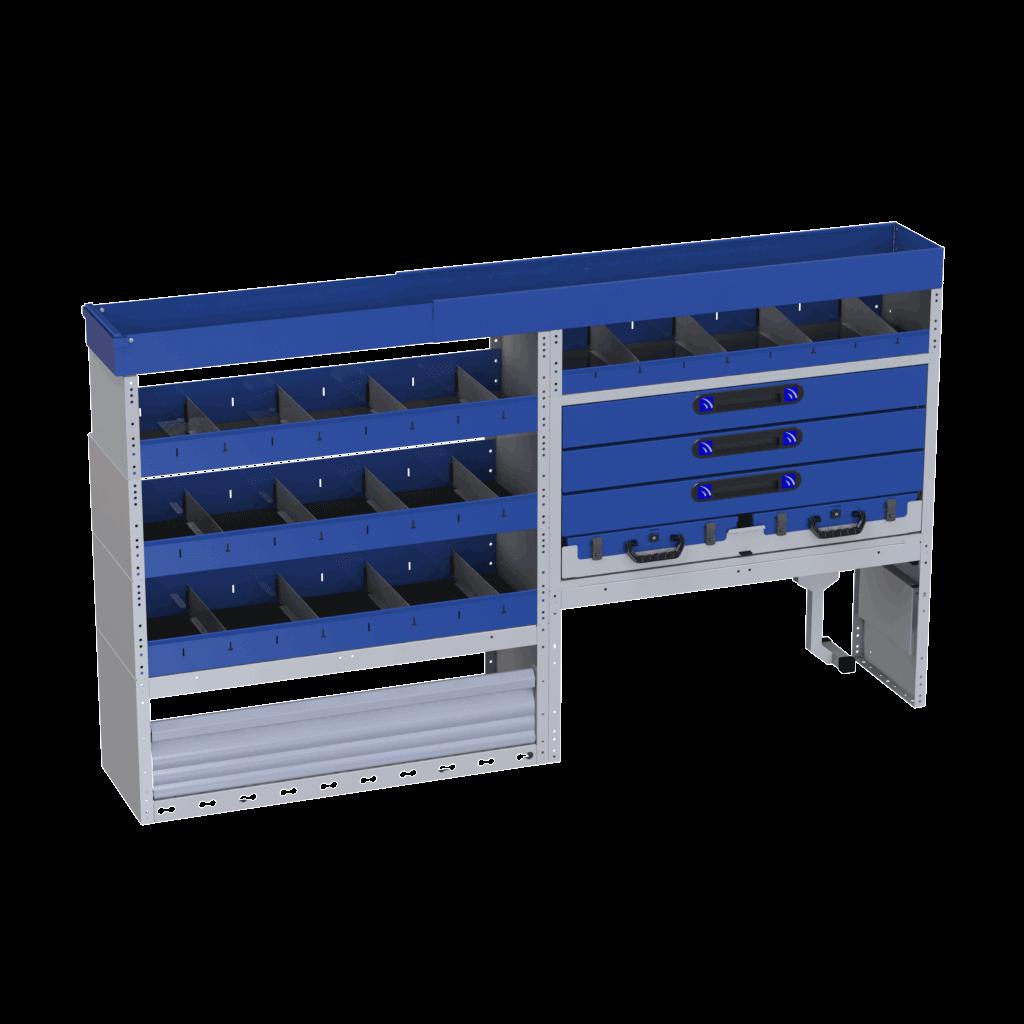 equipamentos bagageira furgão
