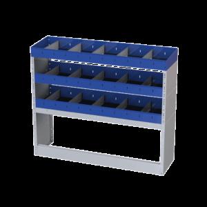 estantes baratas furgão