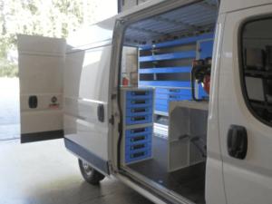 oficina móvel carrinha furgão Ducato