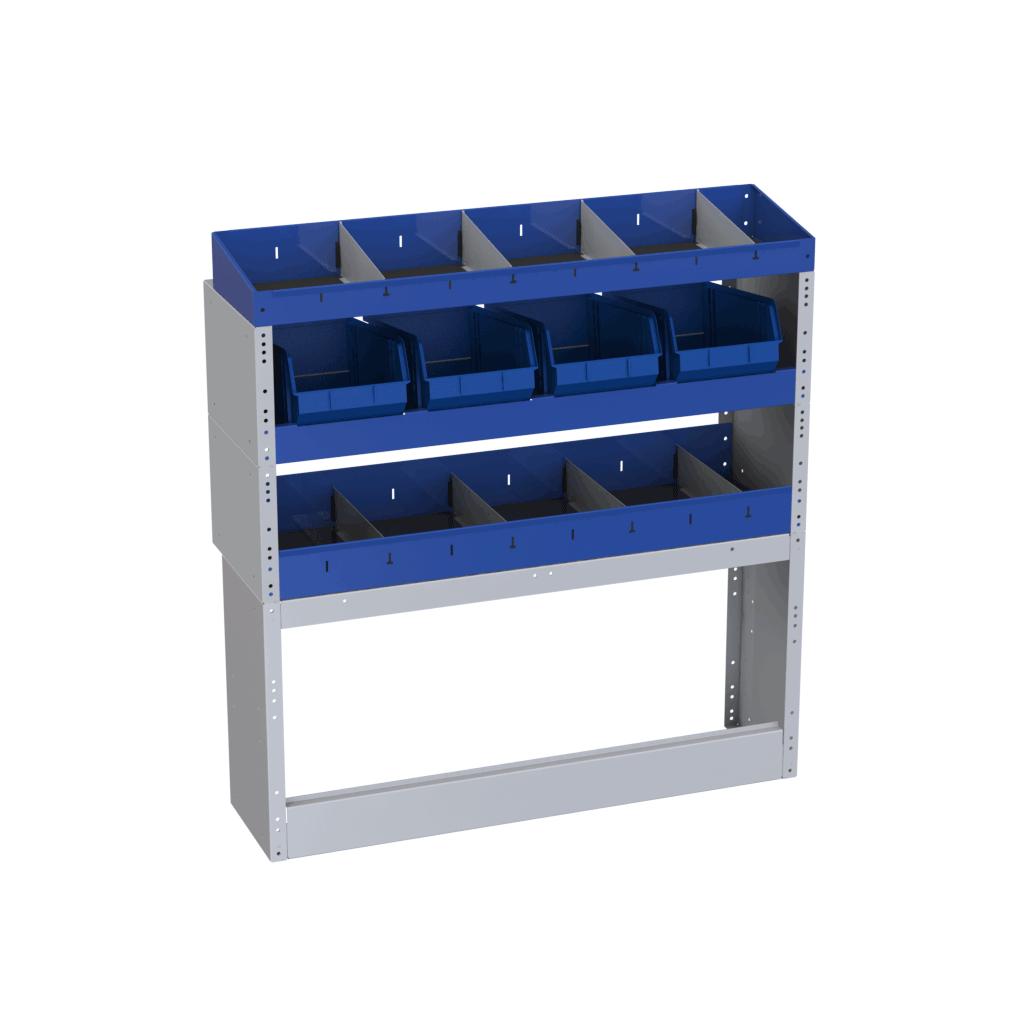 estantes para courier oficina movel