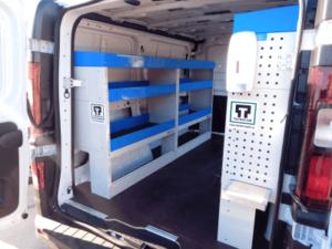 estantes para furgão trafic