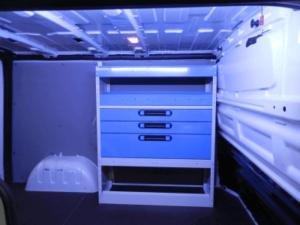 estrutura com gavetas para Fiat Talento